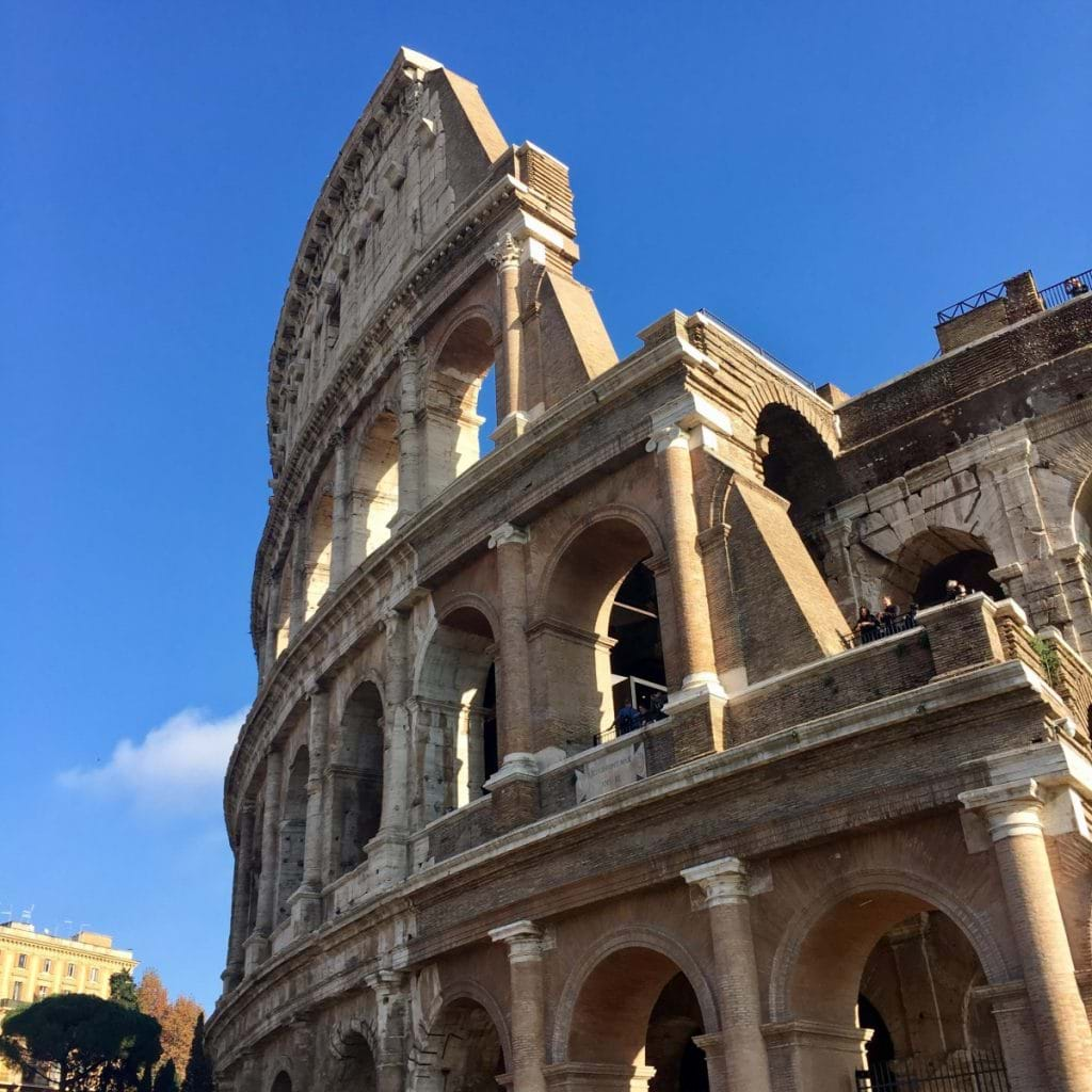 Colosseum i Rom från utsidan