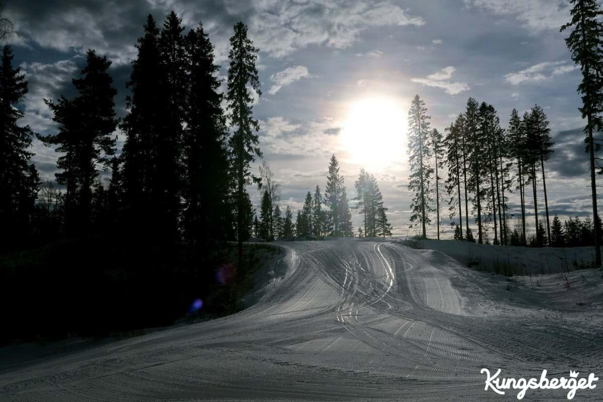 Sportlov med skidor i Kungsberget