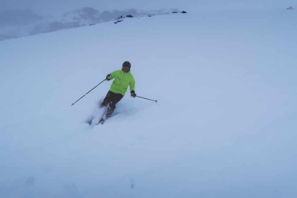 Cervinia - första årliga skidsemestern i alperna