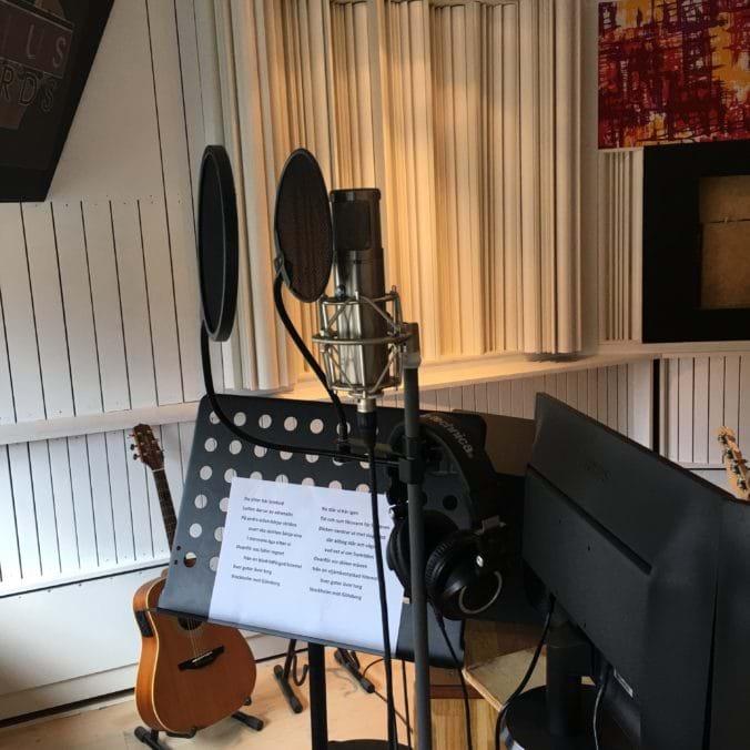 Inspelning hos Rexius Records