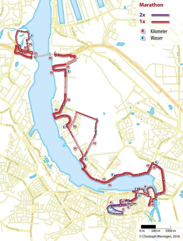 Hella Marathon Nacht - Karta