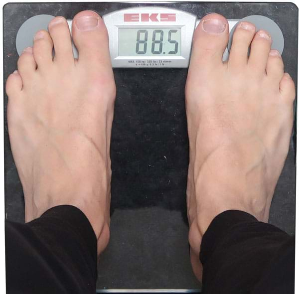 gå ned i vikt på en vecka