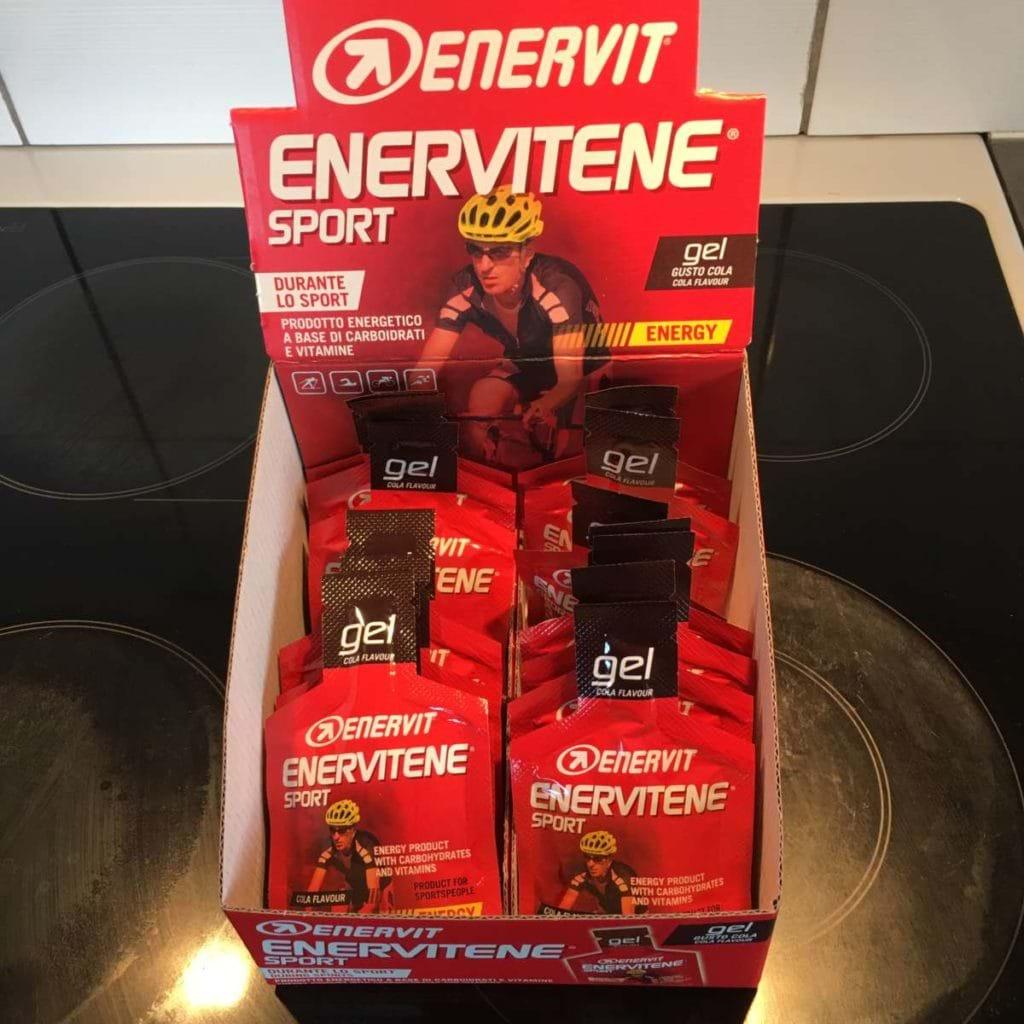 Sista veckan innan marathon - Enervit