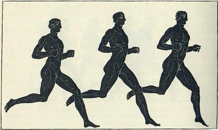 Sista veckan innan marathon - gamla greker
