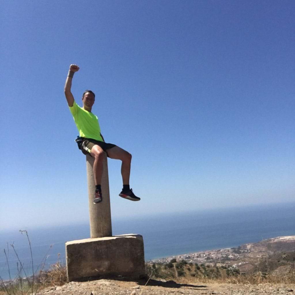 På toppen av berget