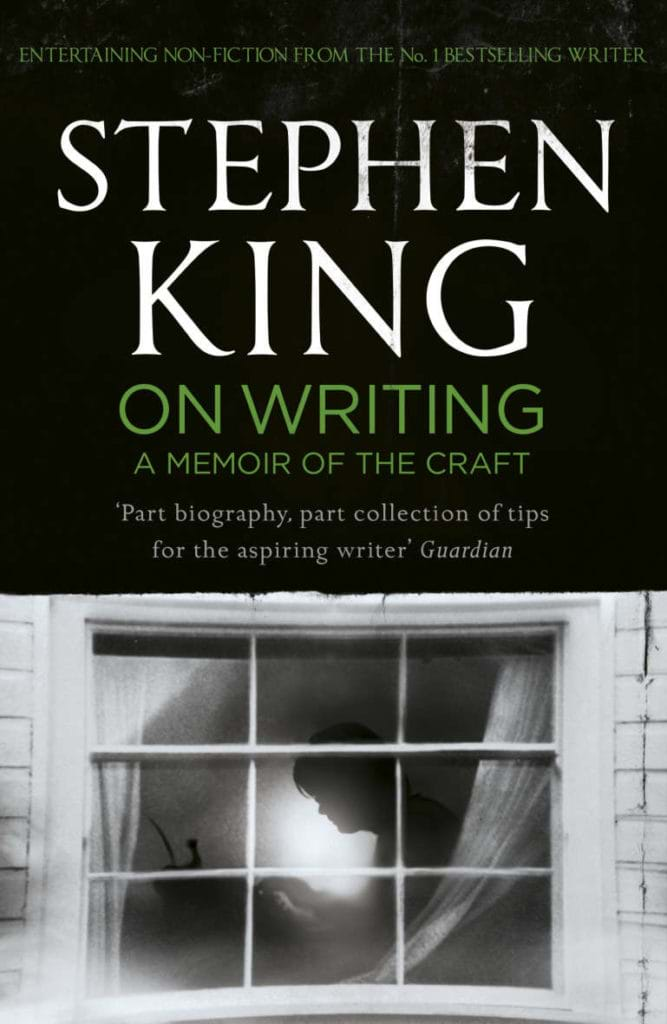 Omslag till boken On writing av Stephen King
