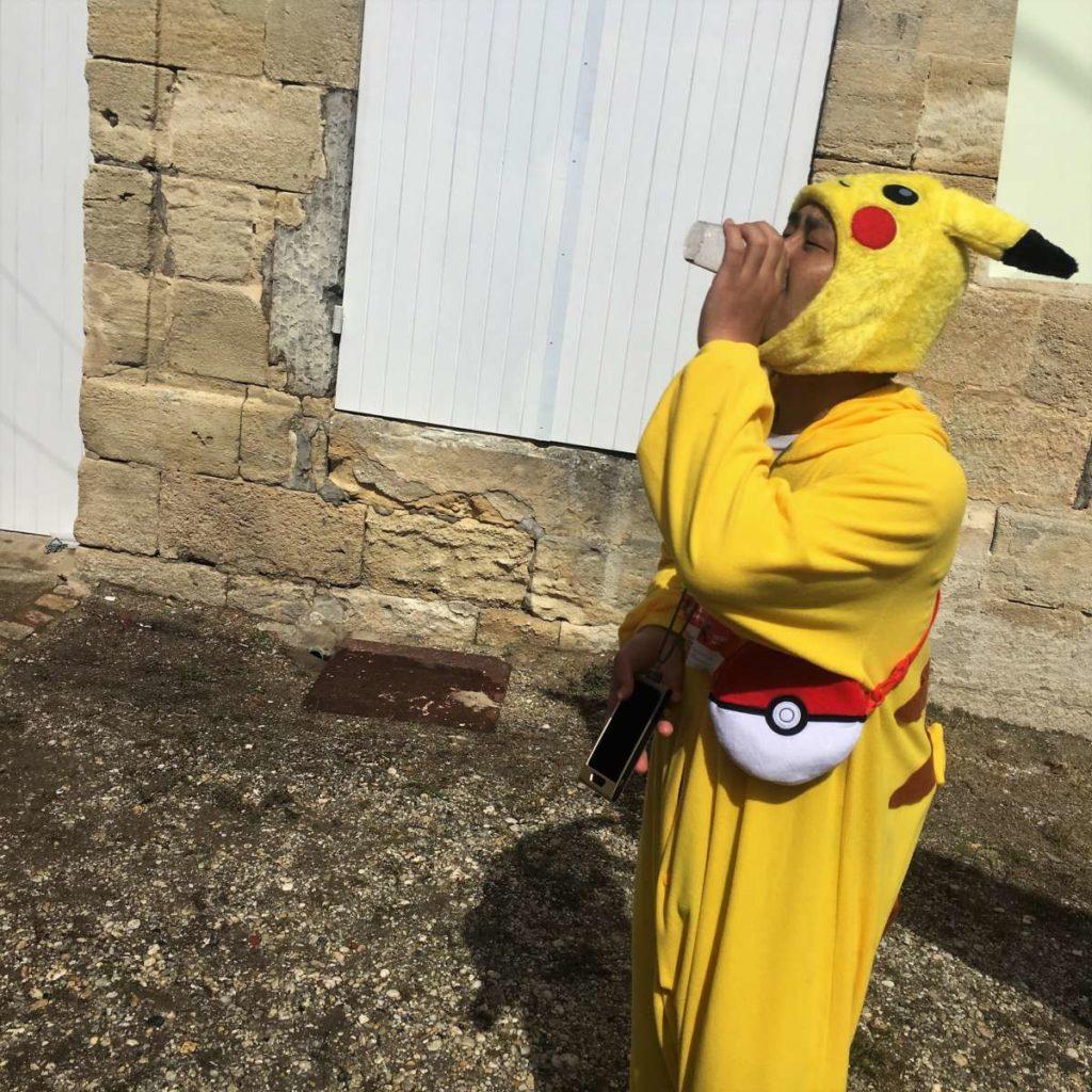 Medoc Marathon 2017 - Pikachu