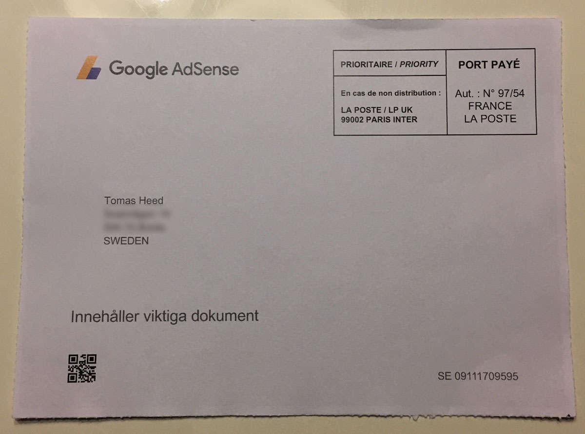 Hur mycket betalar Adsense - Ett brev från Google
