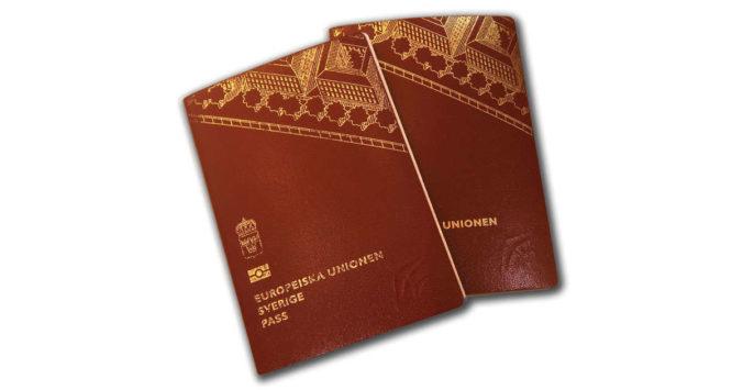 resa utomlands med ett gammalt pass