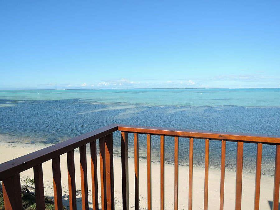 balkong vid havet