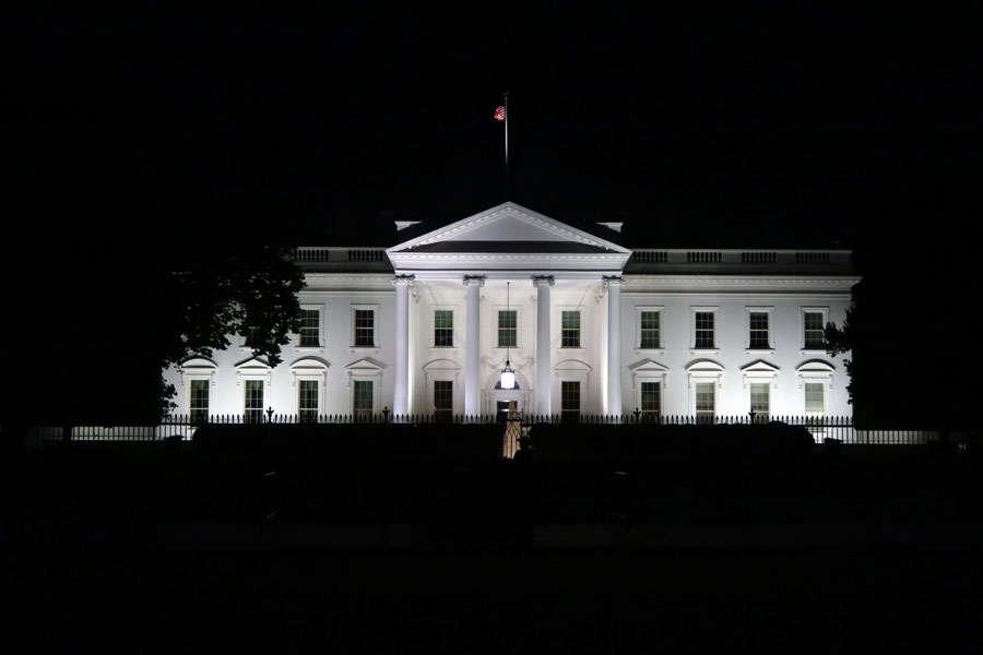 Resa till USA - Vita huset